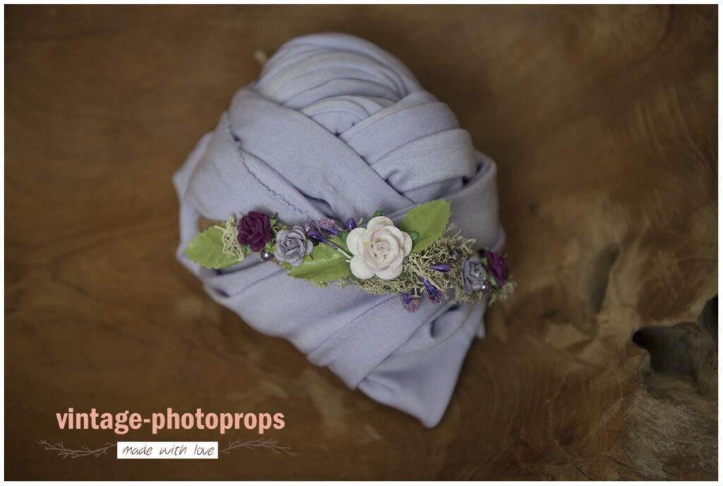 Newborn wrapset lila