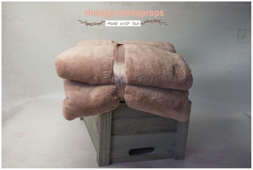 Newborn beanbagkleed warm roze