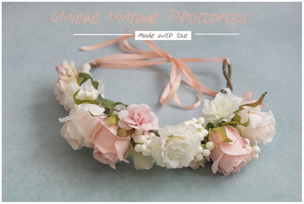 Bloemenkrans wit zalm lekker aanwezig maatje volwassenen