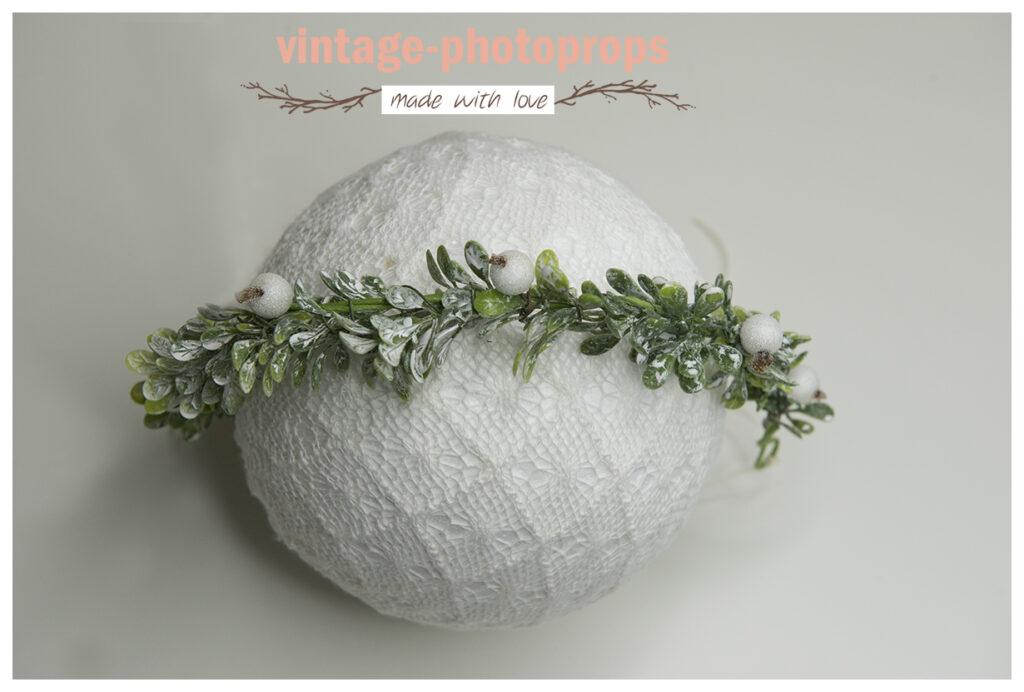 Kerstkrans snow-white vanaf sitters
